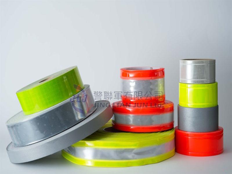 反光材料 一般亮度PVC反光條-2.5cm