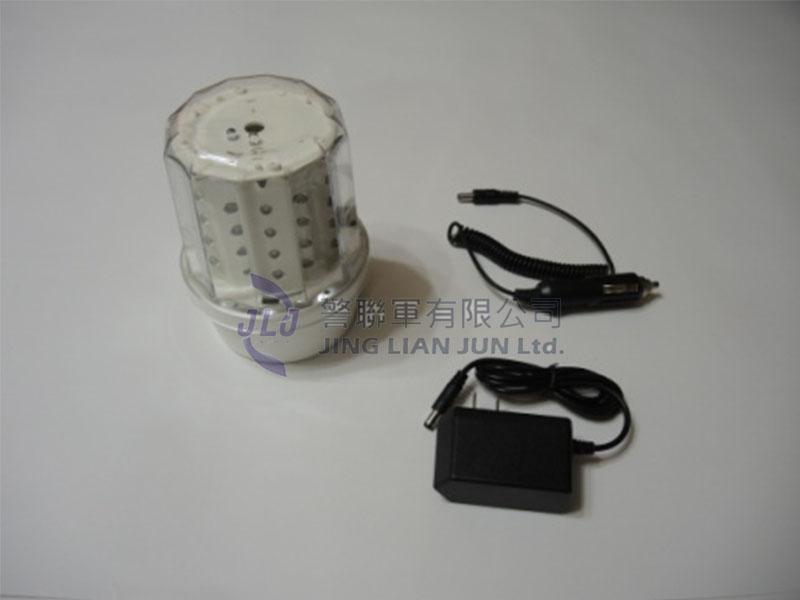 F004-1磁吸式充電式警示燈(紅/藍)