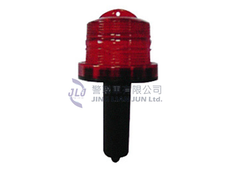 F002小型塑膠錐式LED警示燈