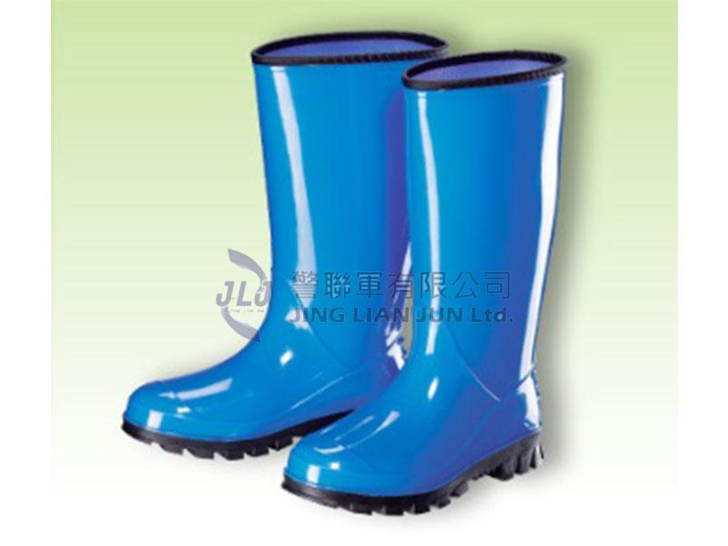 E003-3高級特長雙色女用雨鞋