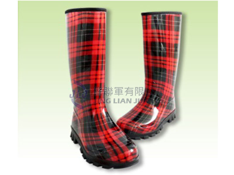 E003-4高級女用彩色雨鞋